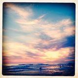 Santa Rosa Beach Royaltyfri Foto