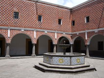 Santa Rosa Convent Courtyard Royalty Free Stock Photography