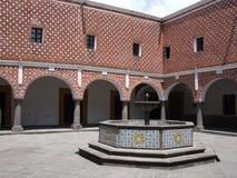 Santa Rosa Convent Courtyard Royalty Free Stock Photography