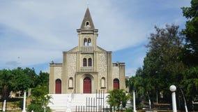 Santa Rosa de Lima Cathedral en el La Romana Fotografía de archivo