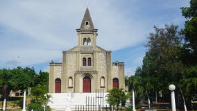 Santa Rosa de Lima Cathedral in La Romana Stock Photography
