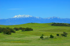 Santa Rosa Plateau in spring Royalty Free Stock Images