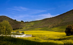 Santa Rosa Valley Royalty Free Stock Images