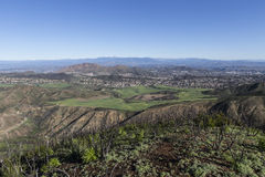 Santa Rosa Valley California. Santa Rosa Valley in Ventura County, California Royalty Free Stock Photo