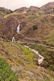 Santa Rosa-Wasserfall, Ecuador Lizenzfreies Stockfoto