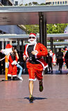 Santa Run a Sydney Fotografia Stock