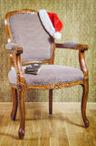 Santa's Armchair Royalty Free Stock Photography