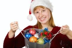 Santa's bag Stock Image
