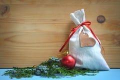 Santa's bag royalty free stock image