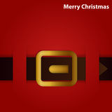Santa's belt Royalty Free Stock Images