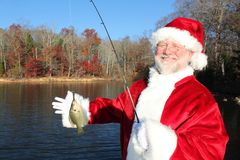 Santa's Big Clatch 2 Stock Photo