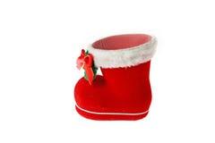 Santa's boot Stock Images
