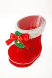 Santa's boot Stock Photography