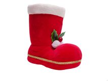 Santa's boot Stock Photos