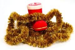 Free Santa S Boot And Tinsel Stock Photos - 1600013