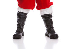 Santa's Boots Stock Images