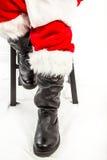 Santa's Boots Stock Photo