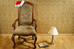 Santa's Chair Stock Image