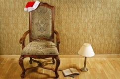 Santa's Chair Stock Image