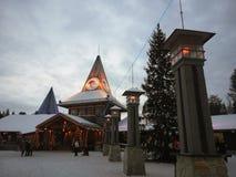 Santa& x27;s Christmas House stock image