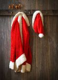 Santa's Coat Royalty Free Stock Photos