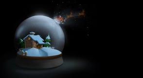 Santa's escape Stock Photo