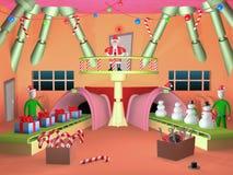 Santa's Factory Stock Photo