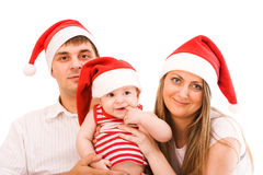 Santa's family Stock Photo