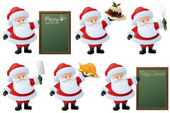 Santa's Feast Royalty Free Stock Photos