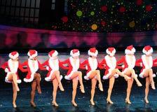 Santa's Girls royalty free stock photo