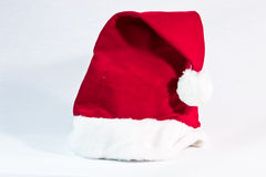 Santa's hat. Santa's christmas hat on a white background Royalty Free Stock Images