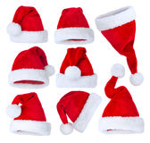 Santas Hat set Stock Image