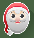 Santa's head Royalty Free Stock Image