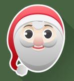 Santa's head Royalty Free Stock Image