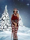 Santa`s Helper Royalty Free Stock Photos