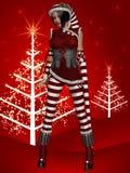 Santa`s Helper Stock Image