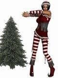 Santa`s Helper Royalty Free Stock Photo