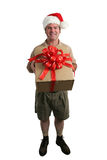 Santa's Helper Royalty Free Stock Photos