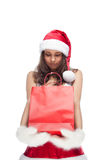 Santa`s helper Royalty Free Stock Image