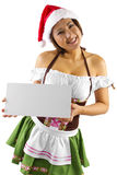 Santa's Helper Stock Photography