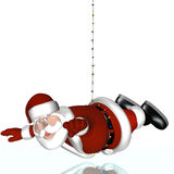 Santa's Impossible Mission Stock Images