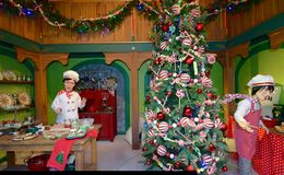 Santa's Kitchen Stock Images