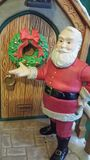 Santa's Knocking Stock Photos