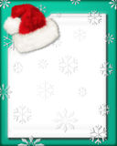 Santa's Letter 2. An artistic holiday background style image royalty free illustration