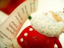 Santa's list Stock Photos