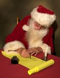 Santa's List Royalty Free Stock Photography