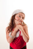 Santa's little helper Stock Image