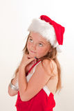 Santa's little helper Royalty Free Stock Photos