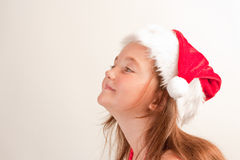 Santa's little helper Stock Photo
