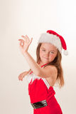 Santa's little helper Royalty Free Stock Images
